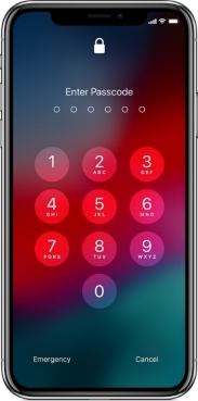 Image result for enter passcode screen on ios 12