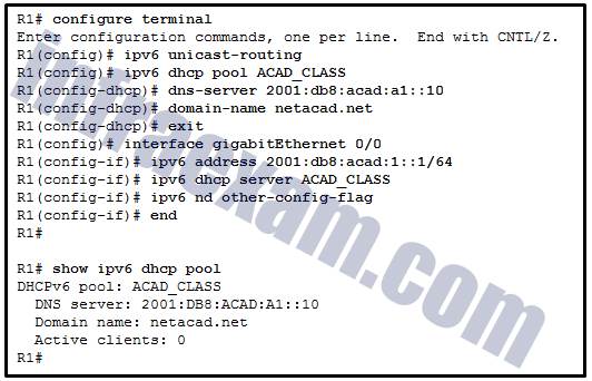 CCNA 2 SRWE v7 Modules 7 – 9 – Available and Reliable Networks Exam Answers 10