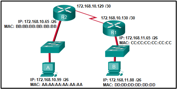 CCNA1 v7 - ITNv7 - Final Exam Answers 14