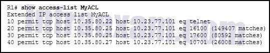 CCNA3 v7 – ENSA – Modules 3 – 5 Network Security Exam Answers 03
