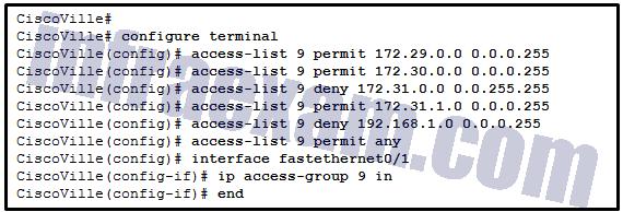 CCNA3 v7 – ENSA – Modules 3 – 5 Network Security Exam Answers 05