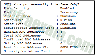 Network Security (Version 1) - Network Security 1.0 Modules 13-14 Layer 2 and Endpoint Security Group Exam Answers 01